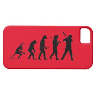 Evolução do basebol - caso engraçado do iPhone 5 Capa Para iPhone 5