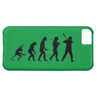 Evolução do basebol - caso engraçado do iPhone 5C Capa Para iPhone 5C