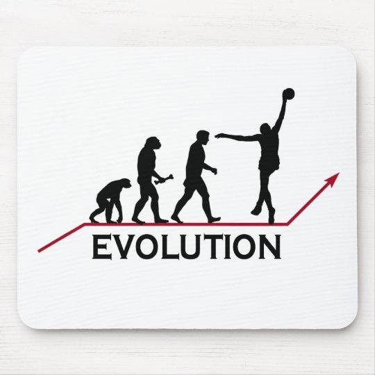 Evolução do basquetebol mouse pad