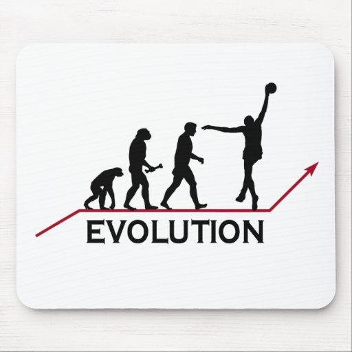 Evolução do basquetebol mouse pads