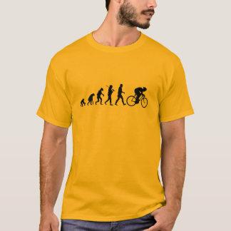 evolução do ciclismo camiseta