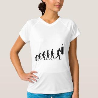 Evolução do encaixotamento t-shirts