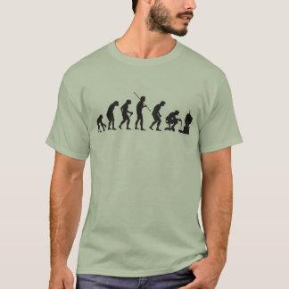 Evolução do Gamer do jogo do video games Camiseta