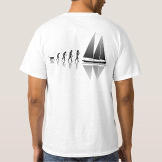 Evolução do marinheiro camiseta