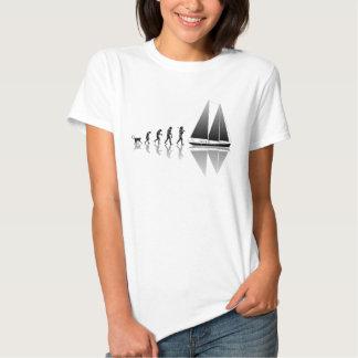 Evolução do marinheiro tshirts