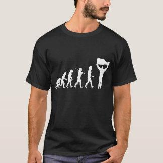 Evolução do t-shirt da obscuridade do campeão do camiseta