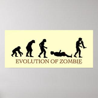 Evolução do zombi pôster