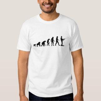 Evolução humana: T-shirt do pescador