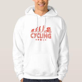 Evolução retro do ciclismo moletom
