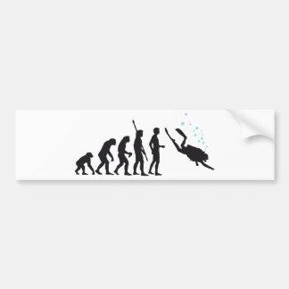 evolution diving adesivo para carro