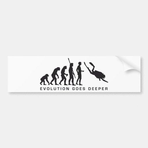 evolution diving adesivo