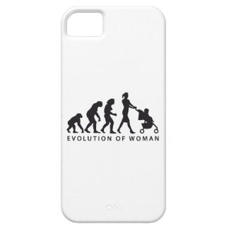evolution of woman with baby capa para iPhone 5