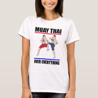 Excedente tailandês de Muay tudo Camiseta