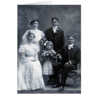 Excelente - avós que wedding cartão comemorativo
