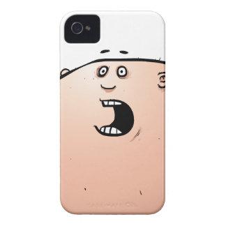Exclusive alto engraçado do design do caso 4s do capinhas iPhone 4