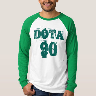 Exclusive do aniversário ZAZZLE do 90 de Costa Camiseta