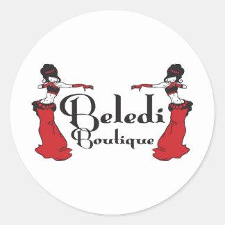 Exclusives do boutique de Beledi Adesivos Em Formato Redondos