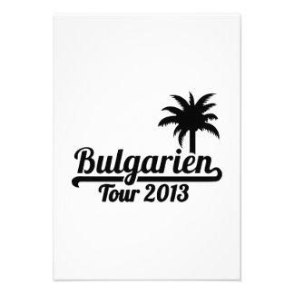 Excursão 2013 de Bulgarien Convites Personalizado