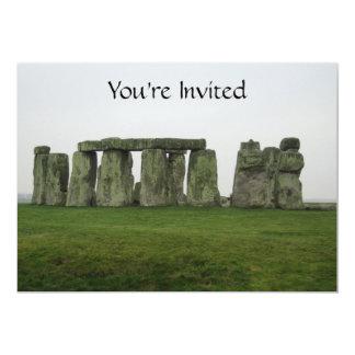 Excursão de Stonehenge Convite 12.7 X 17.78cm