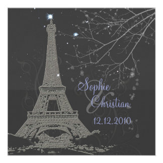 Excursão Eiffel do La de PixDezines+Redemoinhos Convites