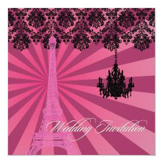 Excursão Eiffel/Paris do la de PixDezines Convite Personalizado