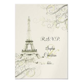 Excursão Eiffel/Paris do la de PixDezines Convite
