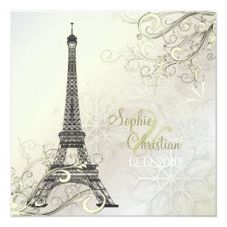 Excursão Eiffel/Paris do la de PixDezines Convite Personalizados
