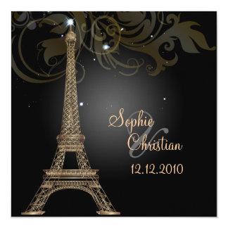 Excursão Eiffel/Paris do la de PixDezines Convites