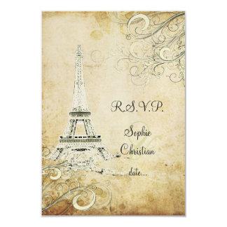 Excursão Eiffel/Paris do la de PixDezines Convites Personalizados