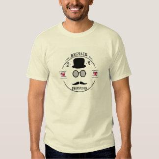 Excursão Grâ Bretanha Prometour do tempo do chá T-shirt