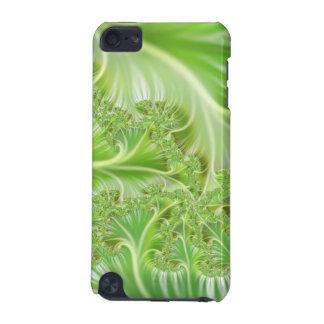 Exemplo à moda do abstrato do verde capa para iPod touch 5G