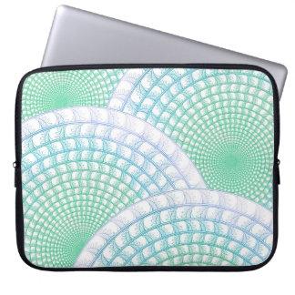 Exemplo abstrato dos eletrônicos das ondas de capa para computador