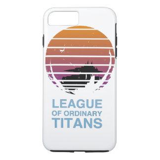 Exemplo alternativo da liga capa iPhone 8 plus/7 plus