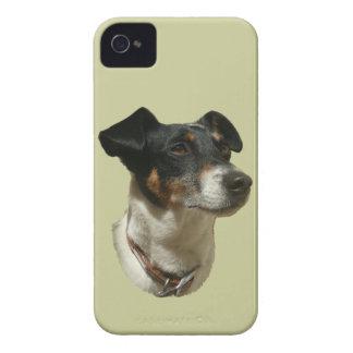 Exemplo bonito da case mate do cão de Jack Russell Capinhas iPhone 4
