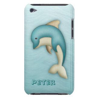 Exemplo bonito da case mate do monograma do golfin capa para iPod touch