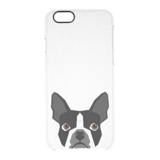 Exemplo claro de Boston Terrier - capas de iphone