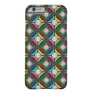 Exemplo da arte abstracta, colorido capa barely there para iPhone 6