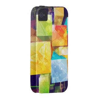 Exemplo da case mate da arte abstracta 21 capa para iPhone 4/4S