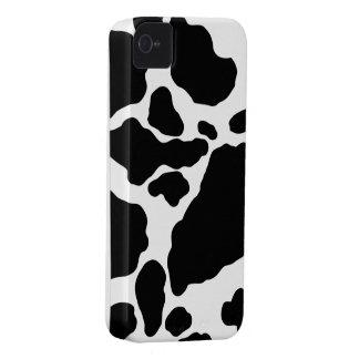 Exemplo da case mate do impressão da vaca capas para iPhone 4 Case-Mate