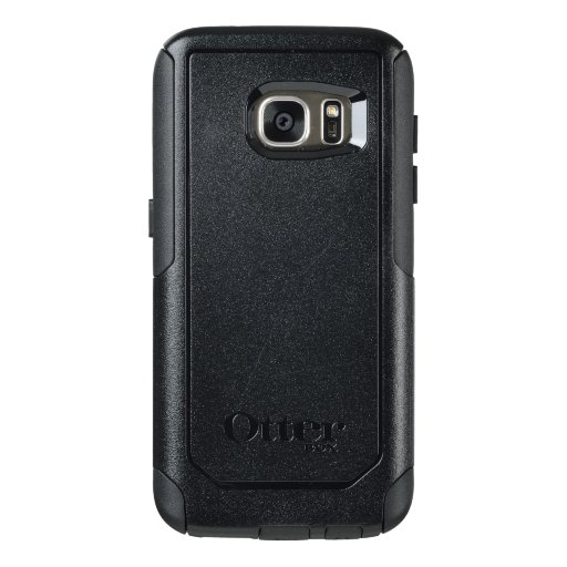 Custom OtterBox Samsung Galaxy S7 Série Commuter Case, Preto