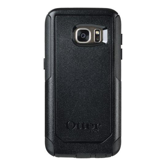 Capa OtterBox Samsung Galaxy S7, Série Commuter, Preto personalizada