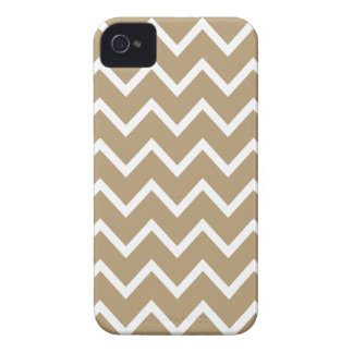 Exemplo de Brown Chevron Iphone 4S da estrela do Capinha iPhone 4
