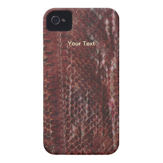 Exemplo de Brown Snakeskin Blackberry Capinhas iPhone 4