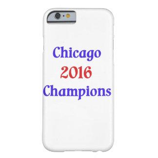 Exemplo de Iphone 6 dos campeões de Chicago 2016 Capa Barely There Para iPhone 6