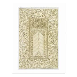 Exemplo de uma chaminé turca, 'da arte e do Indust Cartão Postal