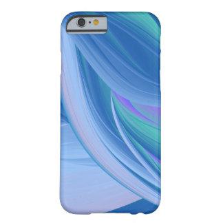 Exemplo do abstrato do azul do verão capa barely there para iPhone 6