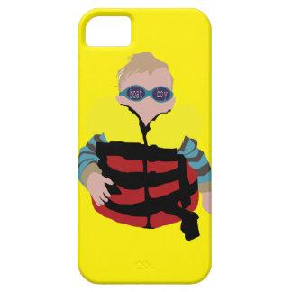 exemplo do bebê do menino do barco capa barely there para iPhone 5