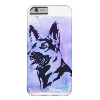 Exemplo do cão de german shepherd capa barely there para iPhone 6
