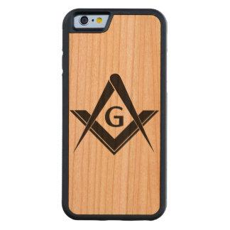 Exemplo do Freemason Capa Cherry Bumper Para iPhone 6
