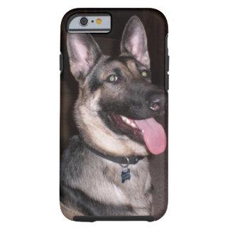 Exemplo do german shepherd capa tough para iPhone 6